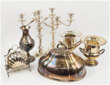 A Collection Of Silverplate Table Articles