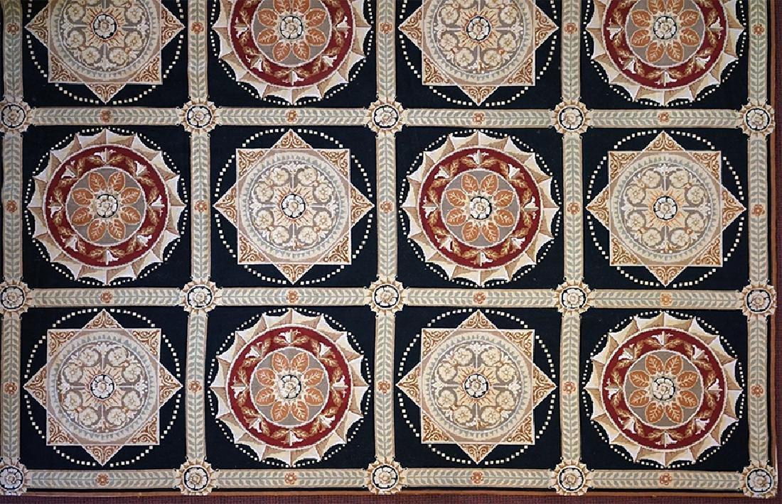 An Aubusson Style Carpet.