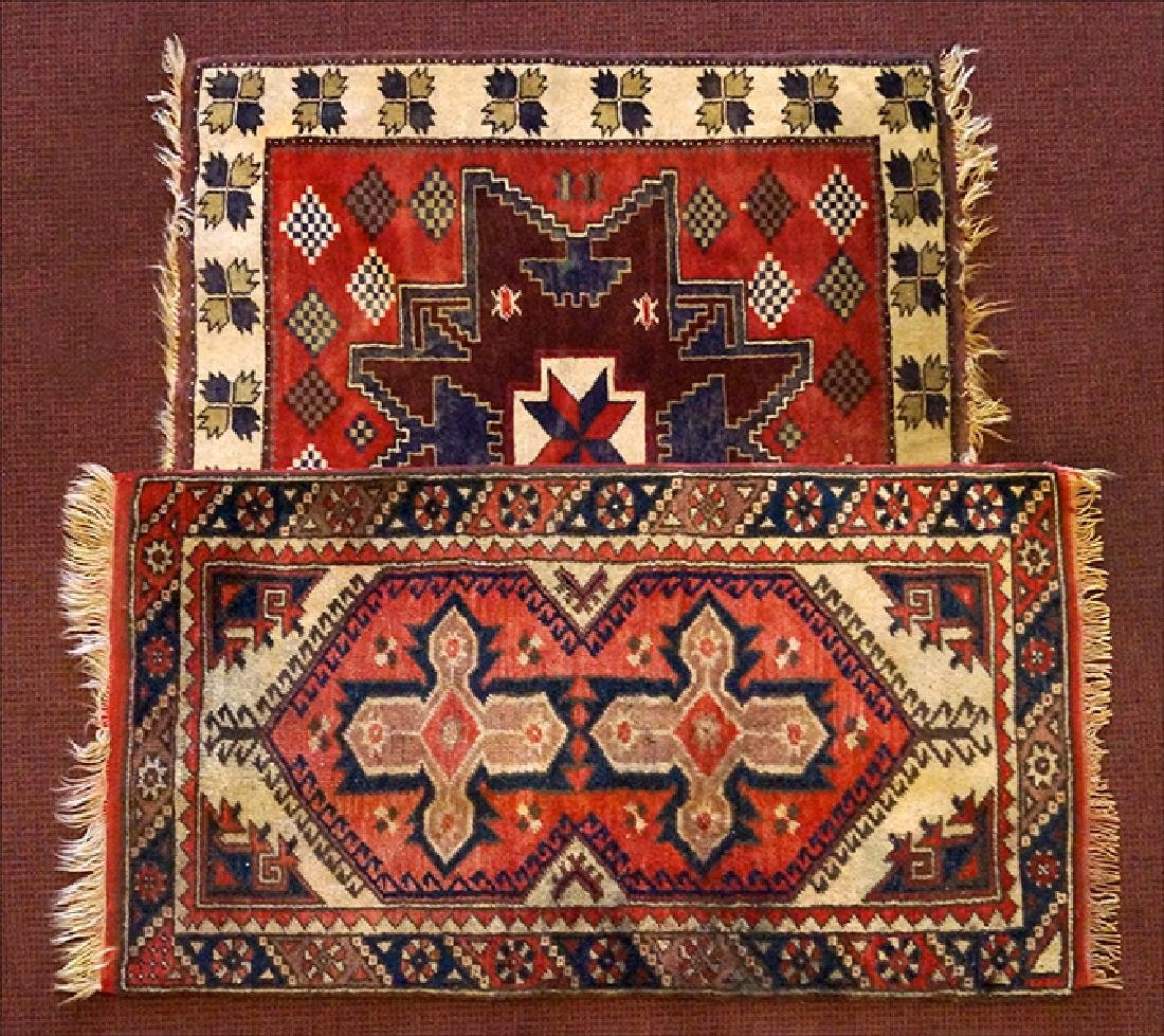 Two Turkish Rugs.