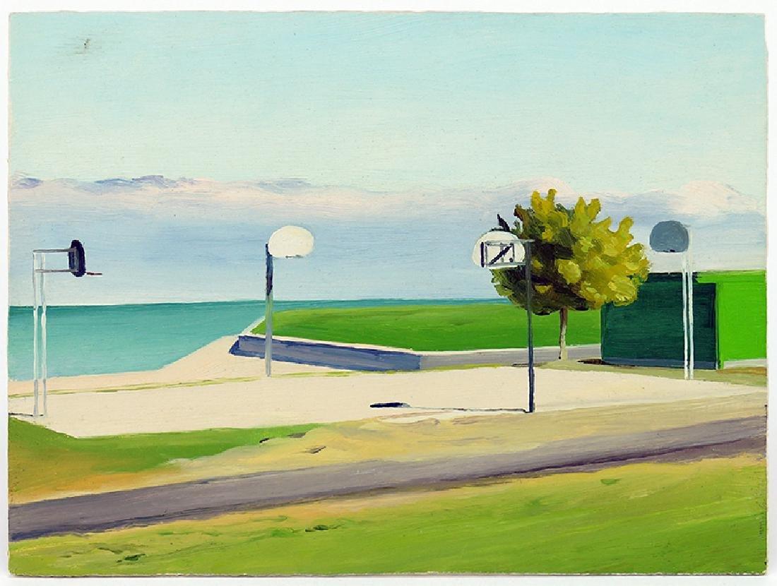 Scott Urness (American, Contemporary) Lakeside