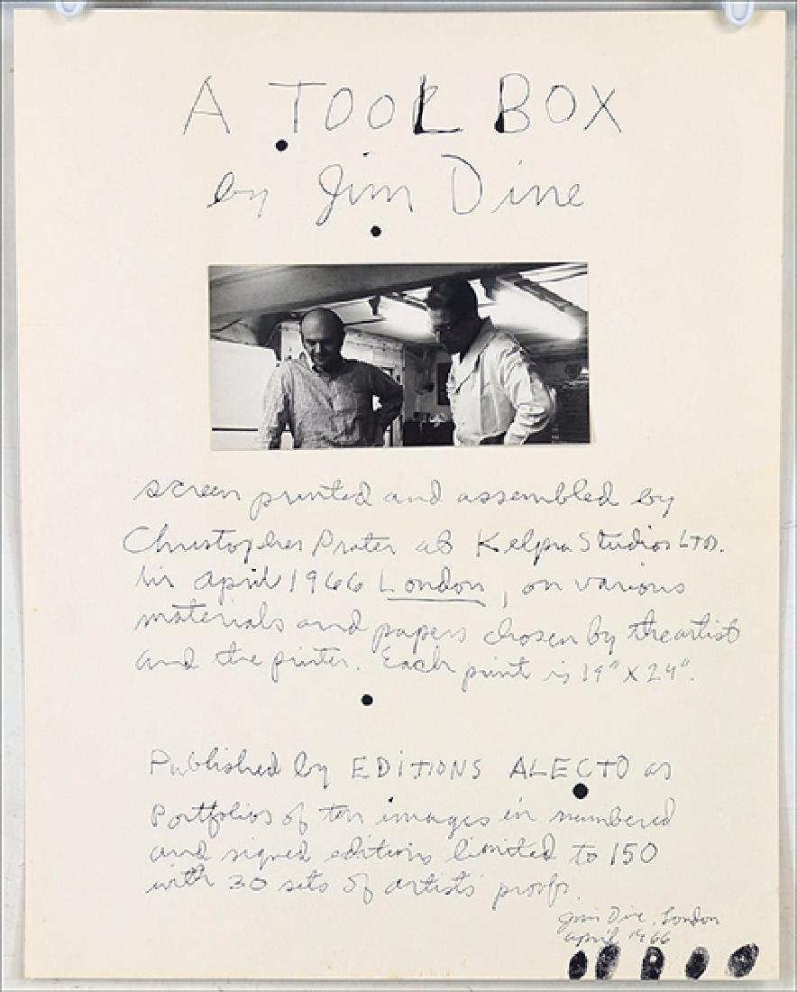 Original Photograph of Jim Dine (American, B. 1935).