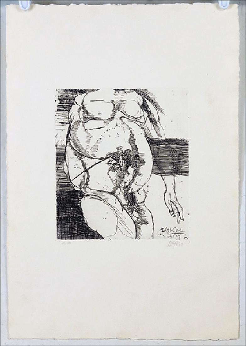 Leonard Baskin (American, 1922-2000) Torso.