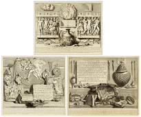 Giovanni Battista Piranesi (Italian, 1720-1778) Reliefs