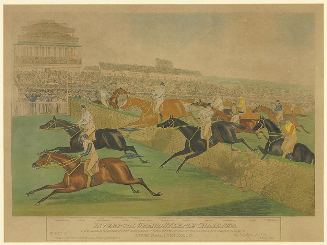 Charles Hunt (British, 1803-1877) Liverpool Grand
