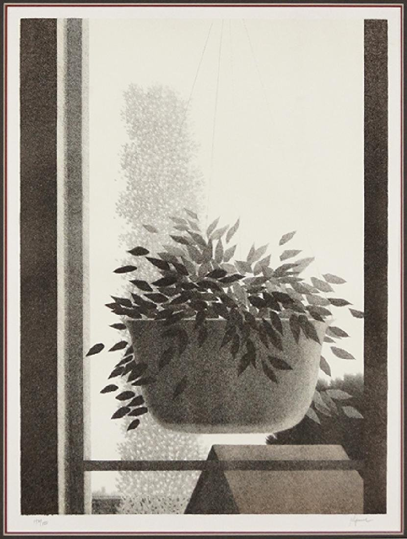 Robert Kipniss (American, B. 1931) Window with