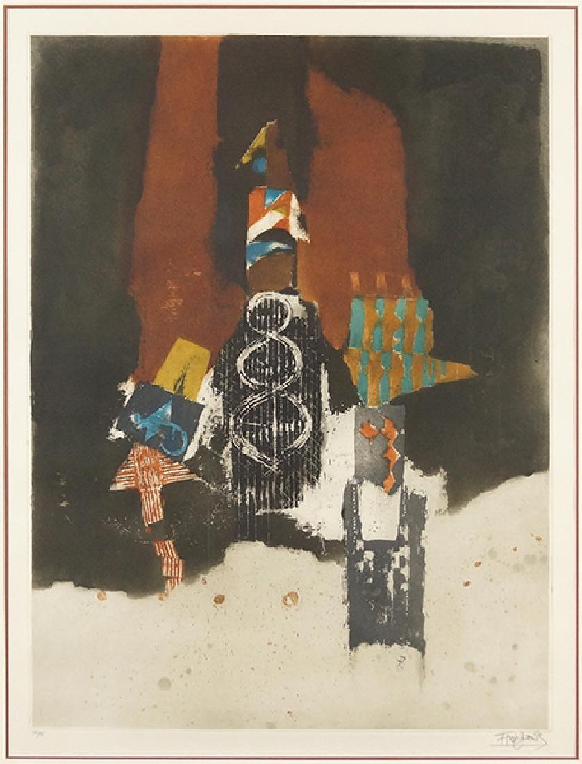 Johnny Friedlander (German, 1912-1992) Fleurs,