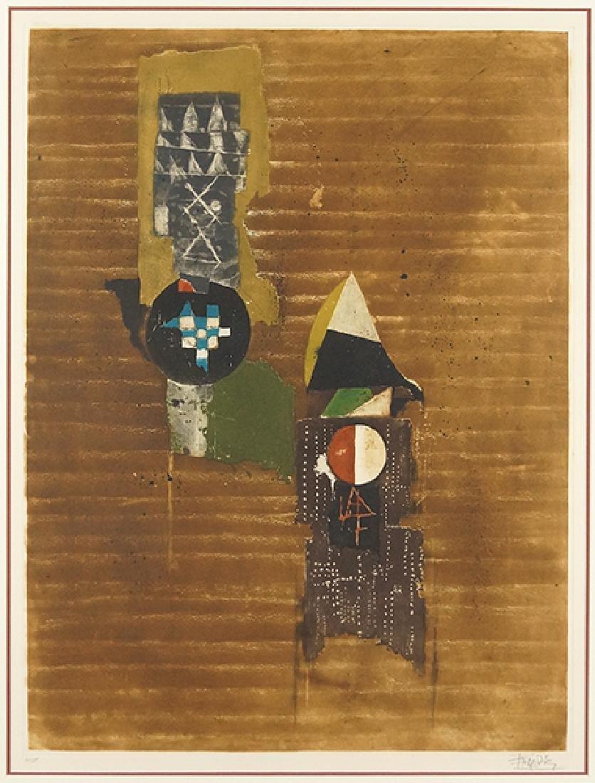 Johnny Friedlander (German, 1912-1992) Composition.