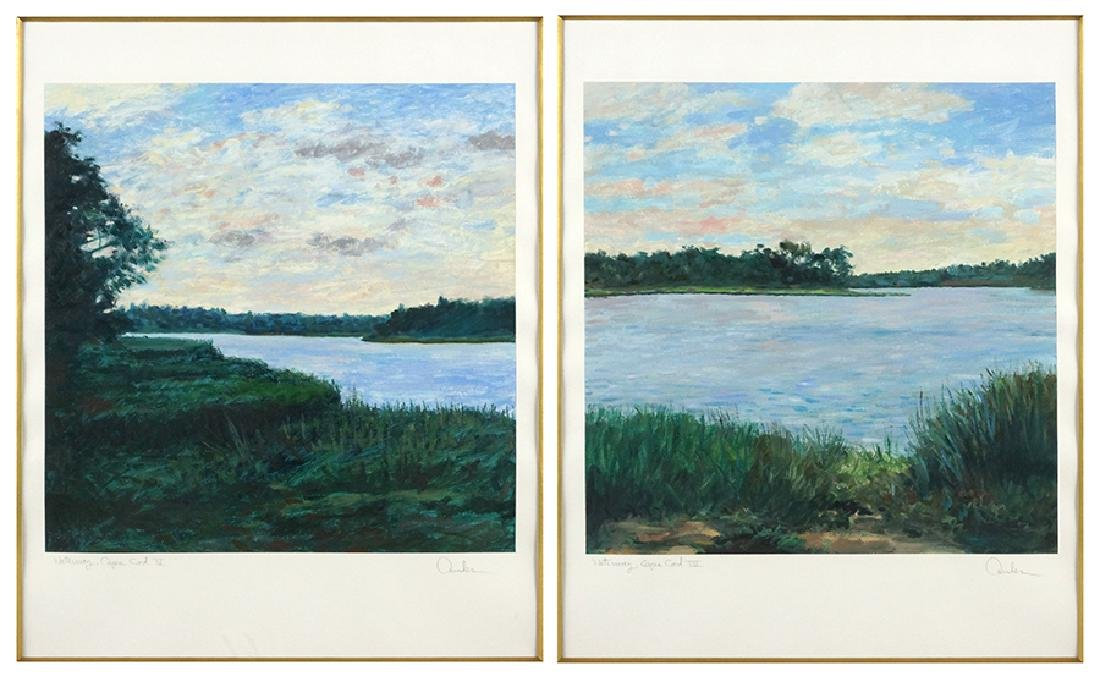 Ander (American, Contemporary) Waterway, Cape Cod IV
