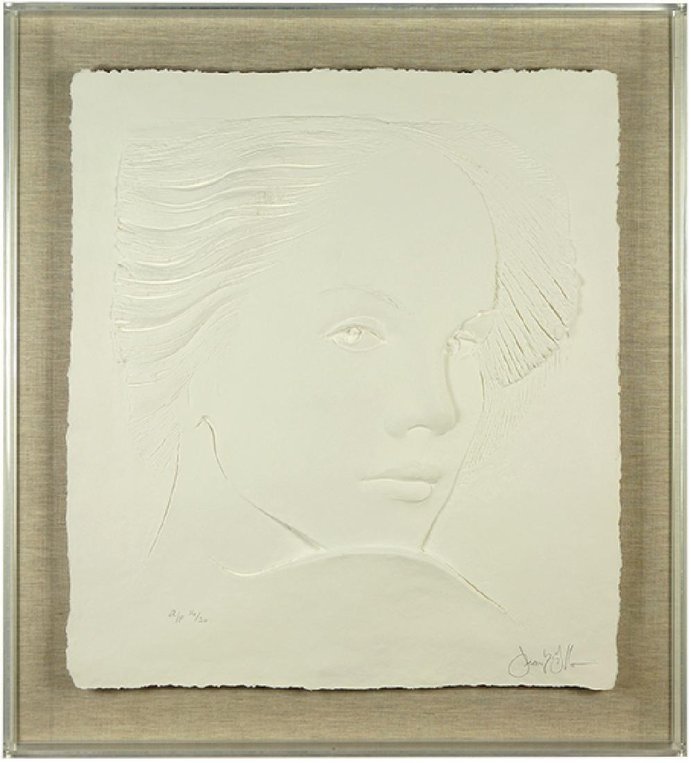 Frank Gallo (American, B. 1933) Head of a Girl.