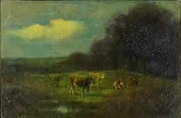 James McDougal Hart American 18281901 Bucolic
