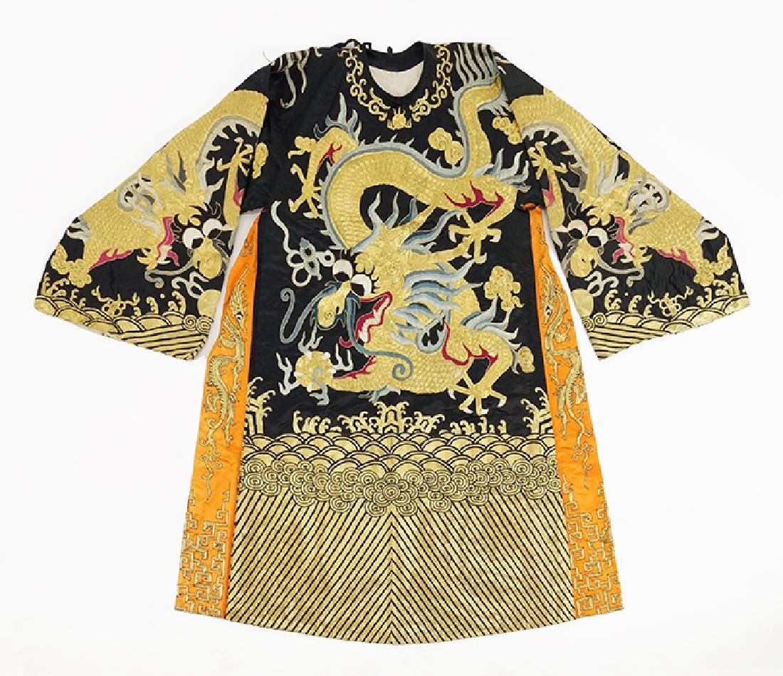 A Chinese Ceremonial Robe.