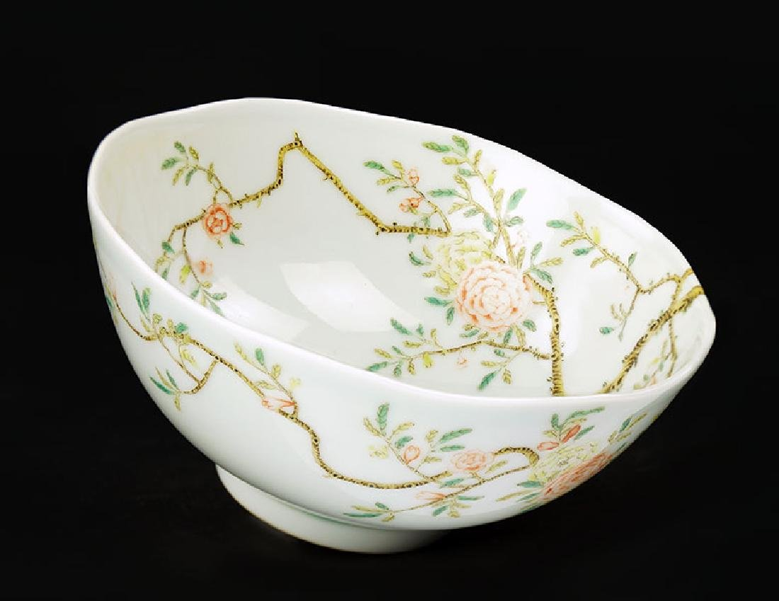 A Chinese Famille Rose Bowl.