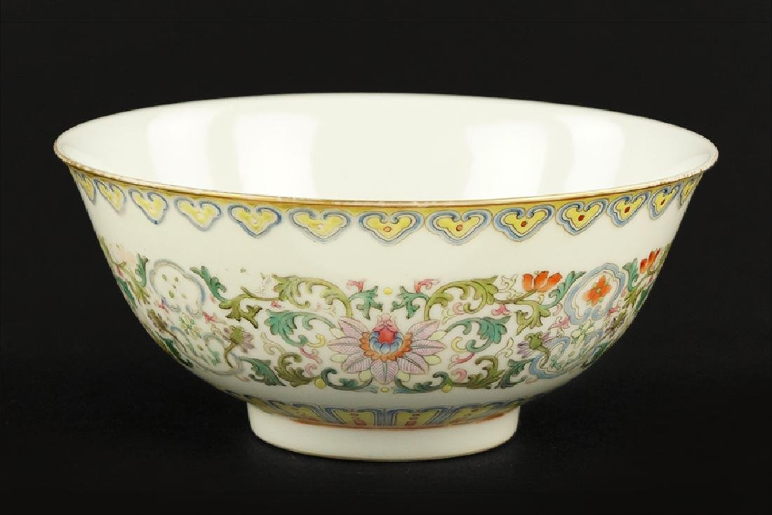 A Chinese Famille Rose Porcelain Bowl.