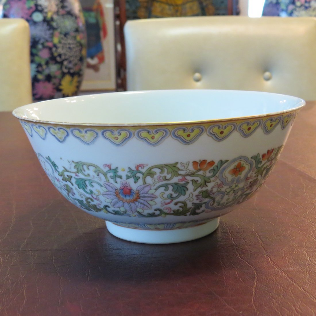 A Chinese Famille Rose Porcelain Bowl. - 2