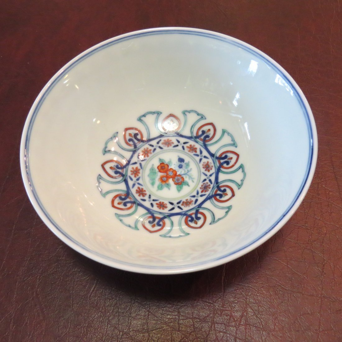 A Chinese Doucai Glazed Porcelain Bowl. - 3