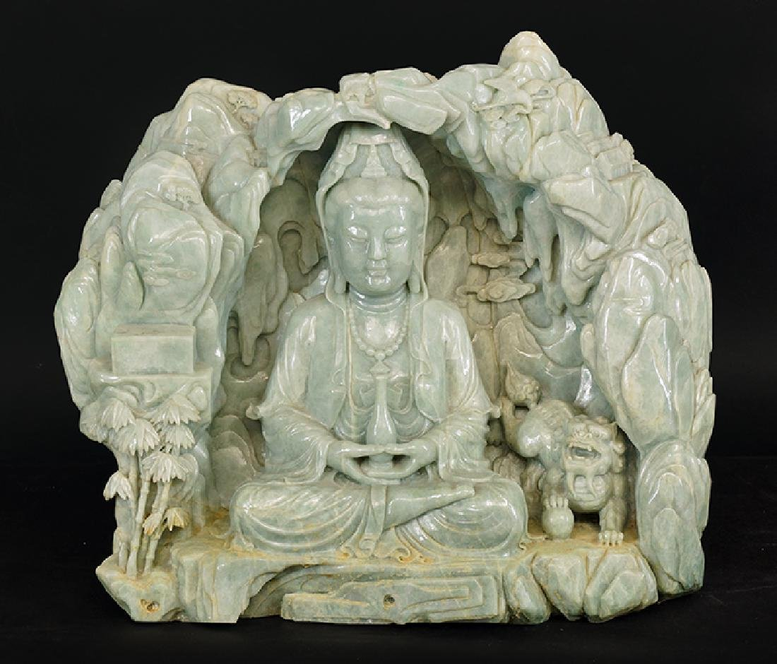 A Carved Stone Deity.
