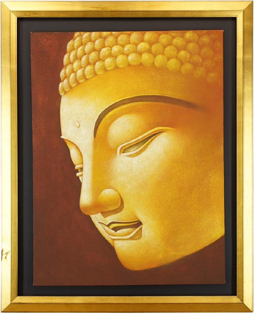 Artist Unknown (Chinese, 20th Century) Buddha.