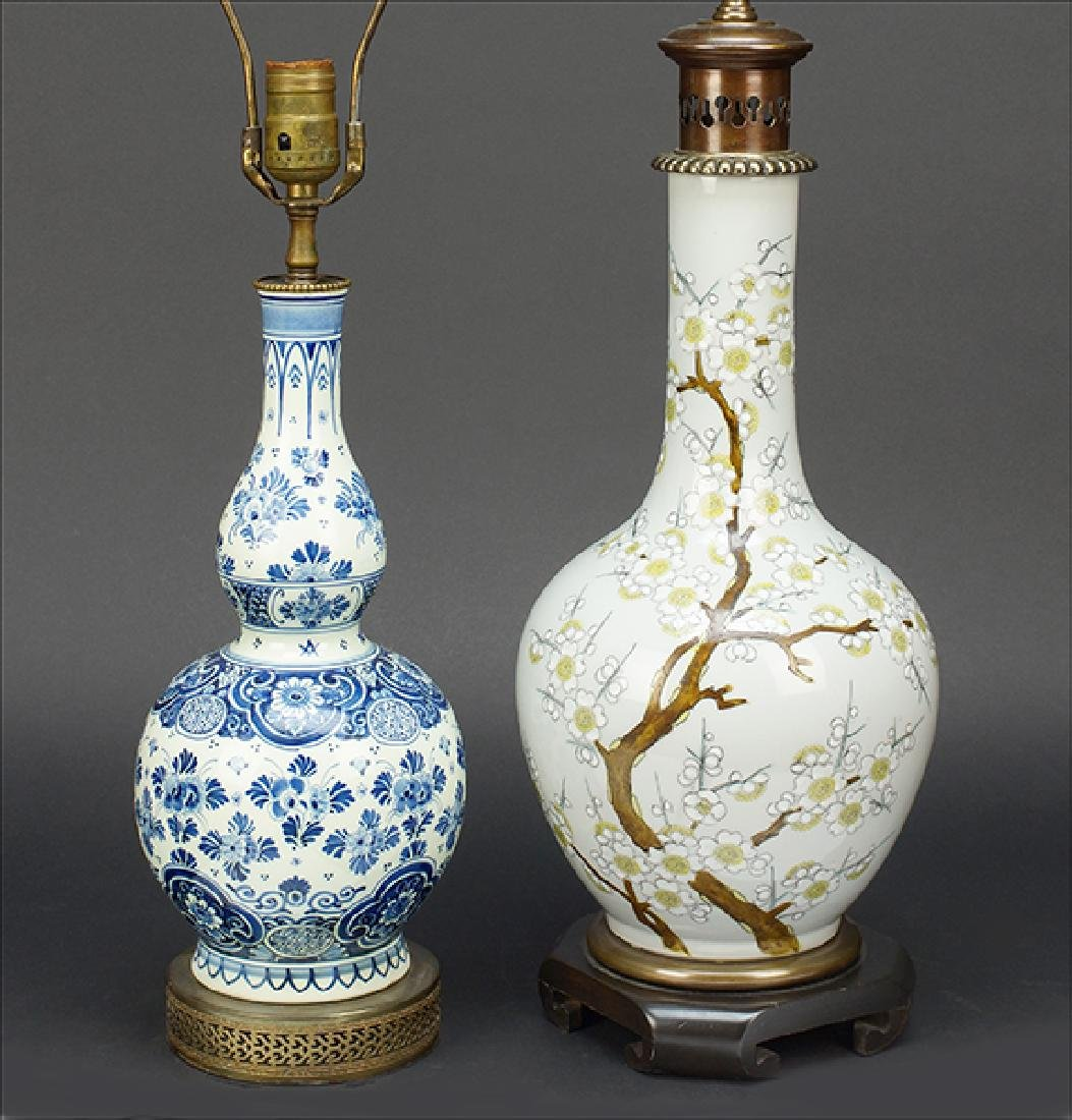 A Chinese Enameled Porcelain Vase.