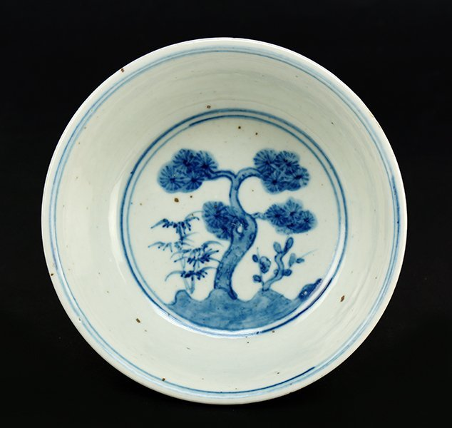 A Chinese Blue and White Porcelain Bowl. - 2