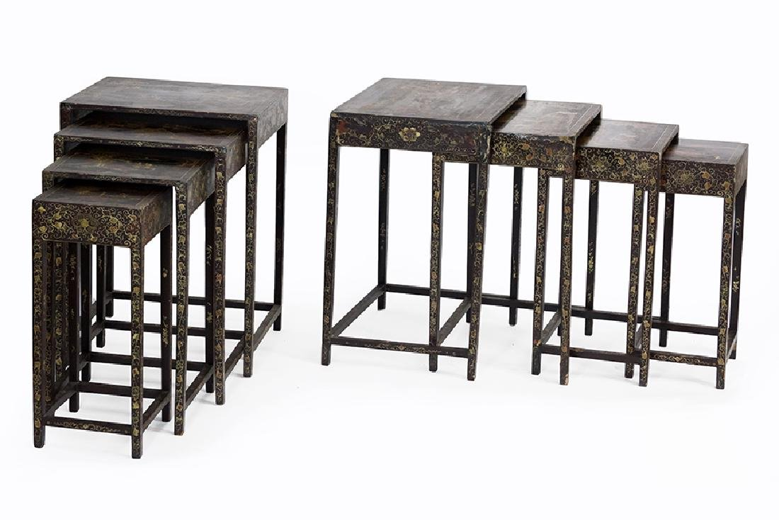 A Pair Of Nesting Tables.