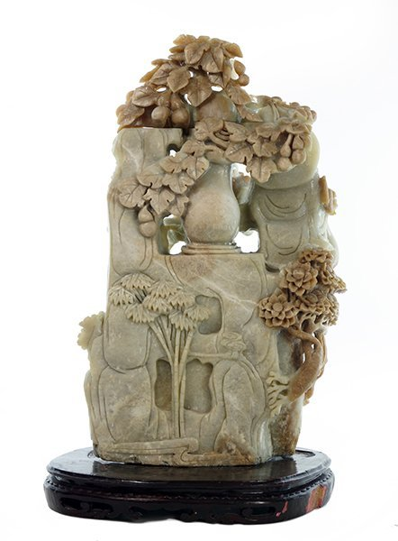 A Chinese Soapstone Carving. - 2