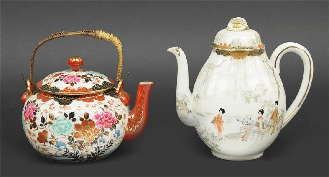 Two Asian Porcelain Teapots.