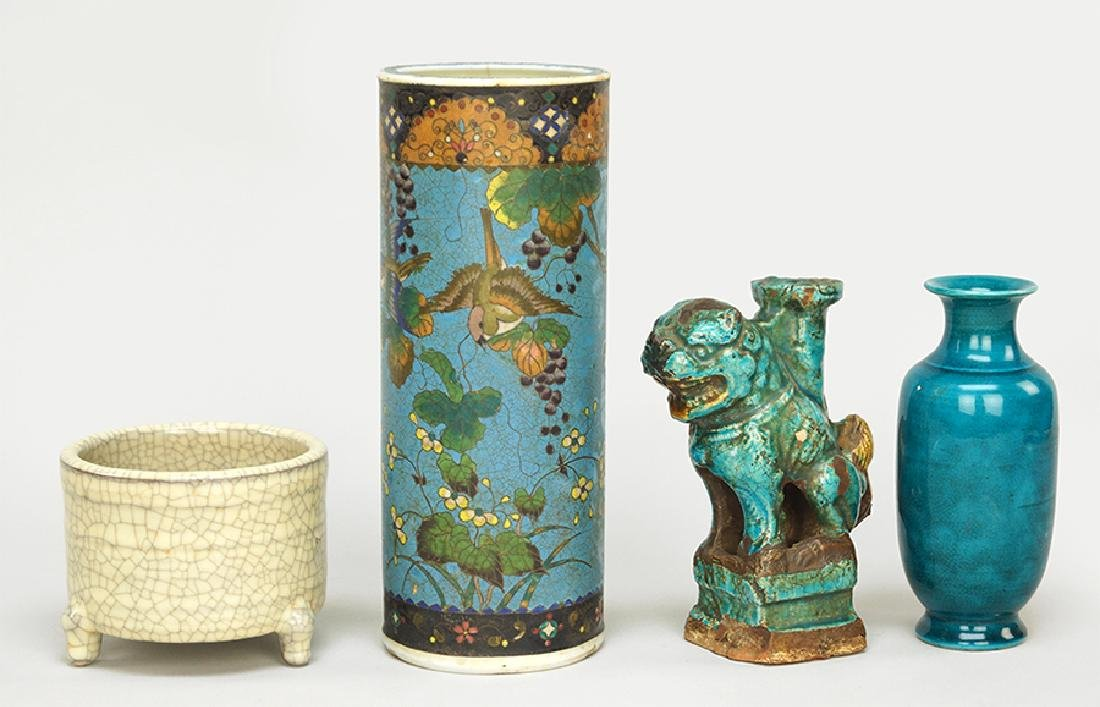 A Collection of Chinese Decorative Items.