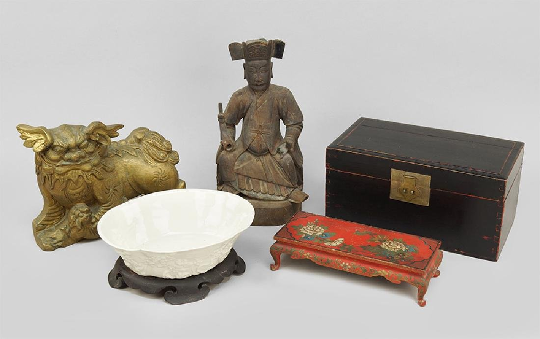 A Collection Of Decorative Objects.