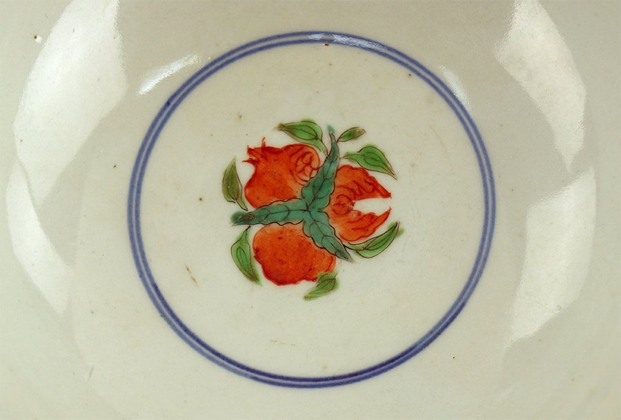 A Pair of Chinese Famille Verte Porcelain Bowls. - 2