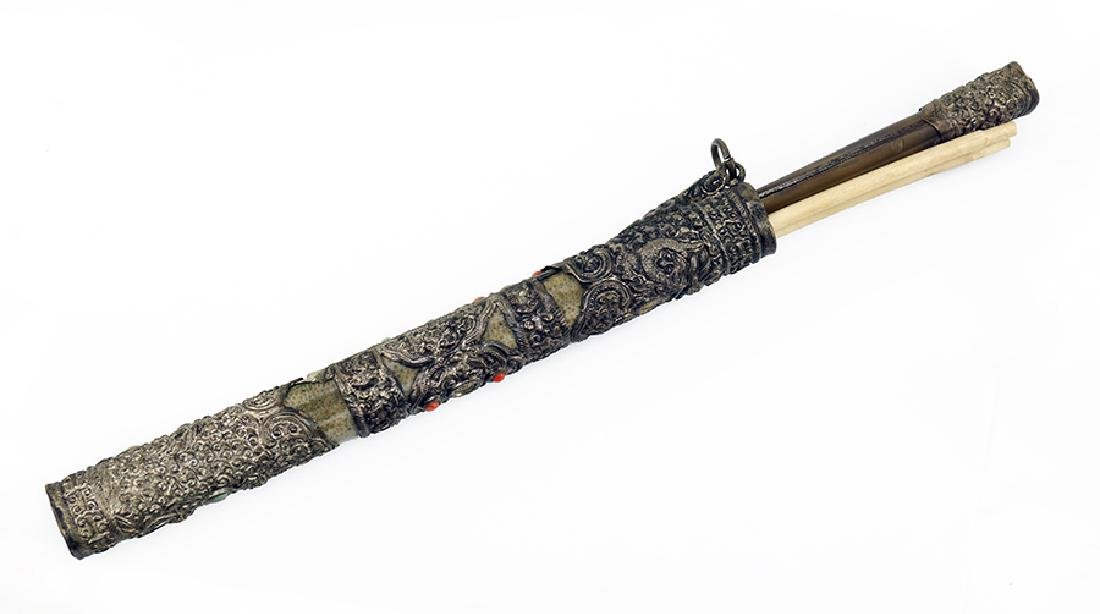 A Chinese Chopstick and Knife Traveling Set.