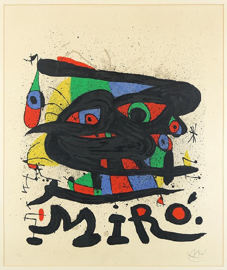 Joan Miro (Spanish, 1893-1983) Miro Sculptures (Walker