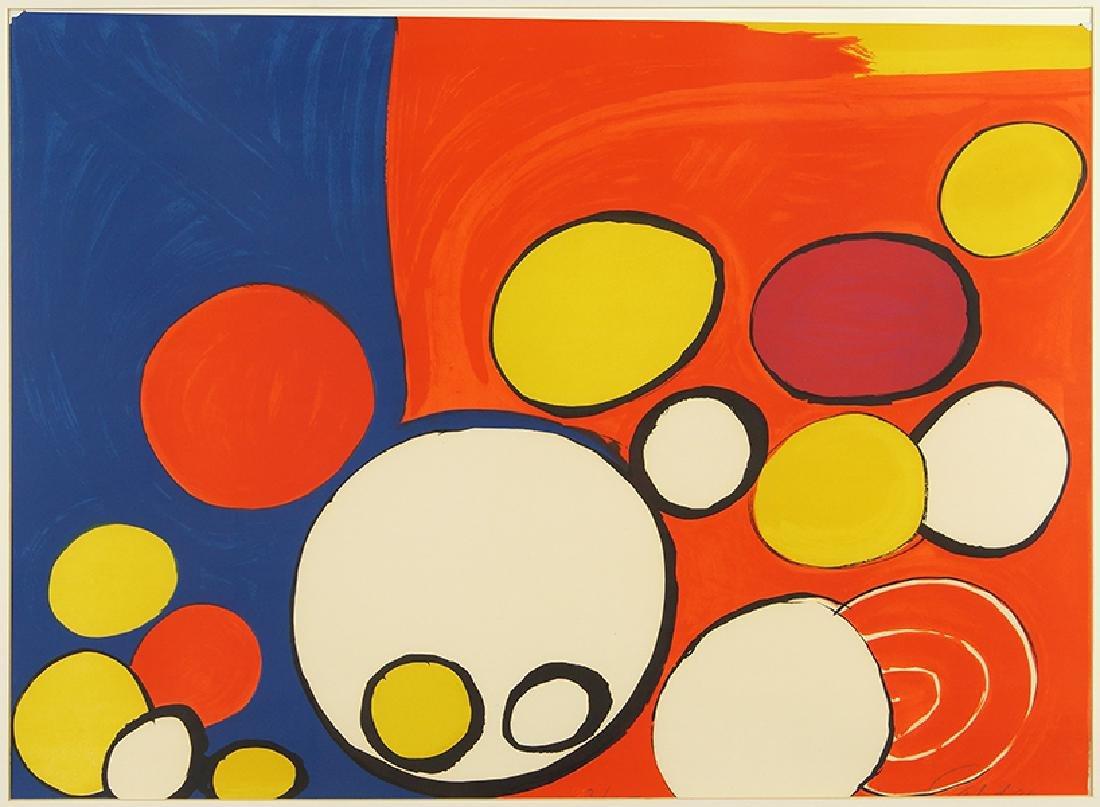 Alexander Calder (American, 1898-1976) Circles and