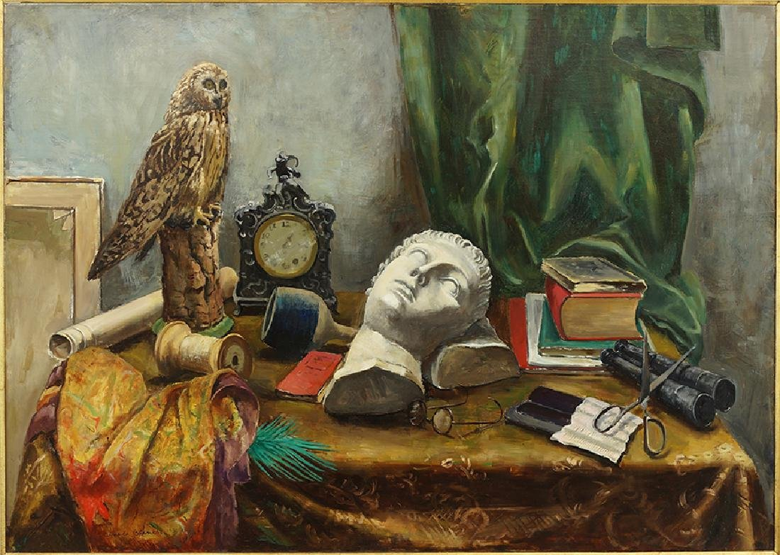 Arnold Blanch (American, 1896-1968) Still Life.