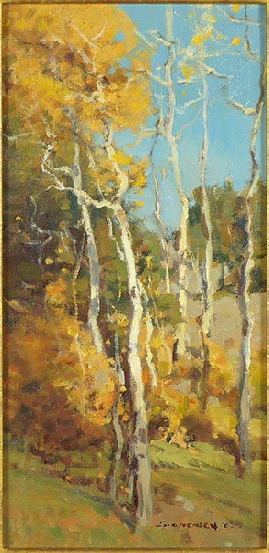 Scott Christensen (American, B. 1962) Trail Anonymous.