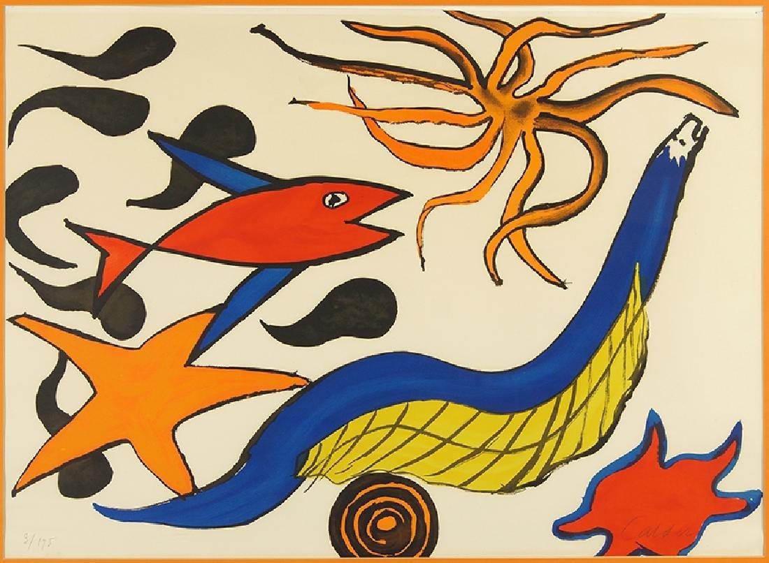 Alexander Calder (American, 1898-1976) Red Fish.