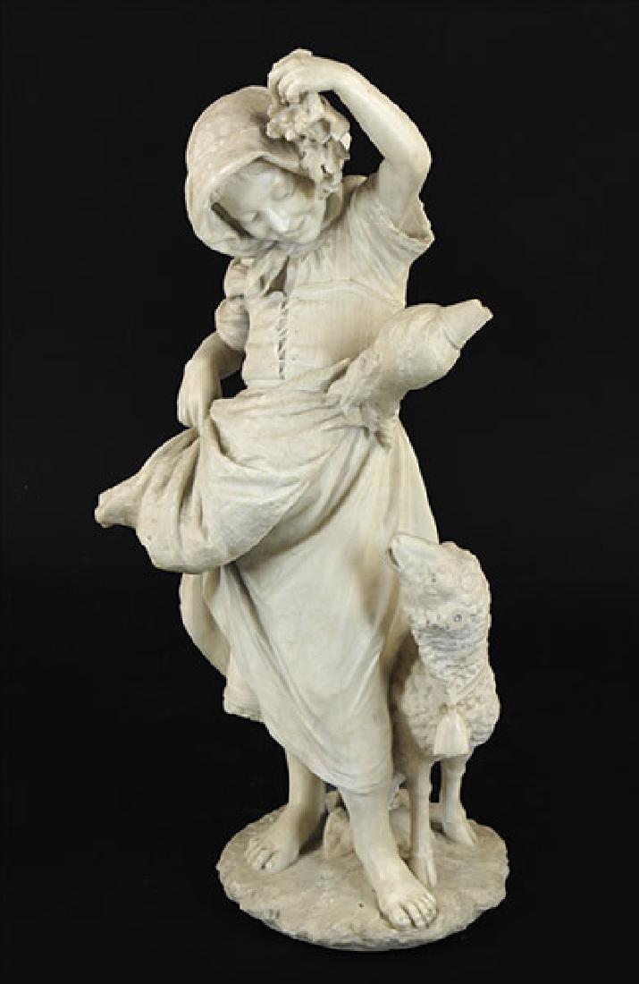 Emilio P. Fiaschi (Italian, 1858-1941) Young Maiden wih