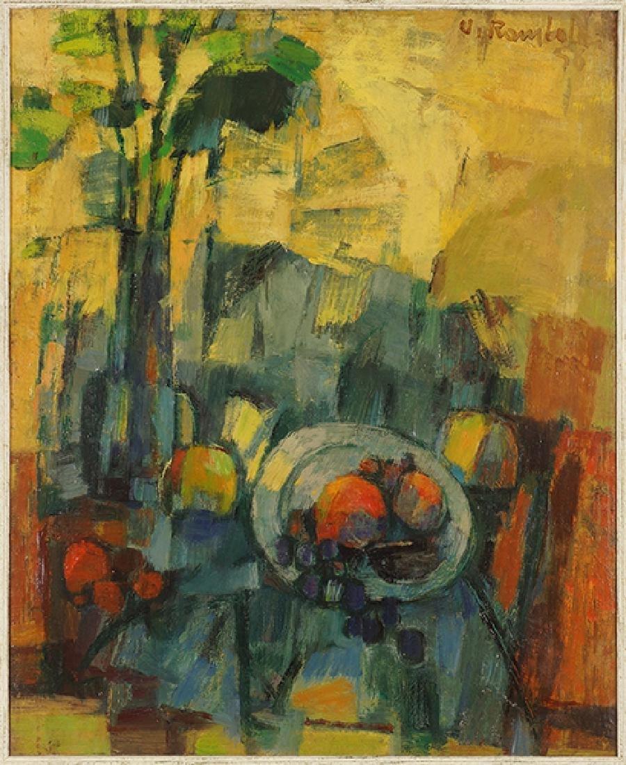 Ugo Rambaldi (Italian, B. 1910) Still Life.