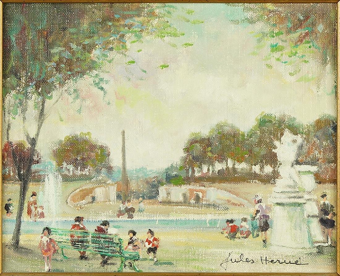 Jules Herve (French, 1887-1981) Le Parc.