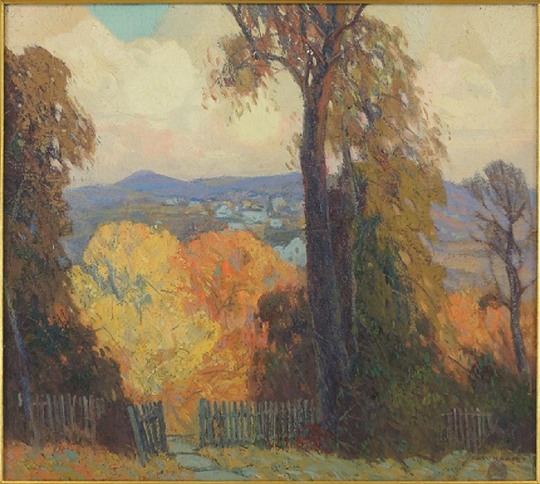 Carl Krafft (American, 1884-1938) Autumn Landscape.