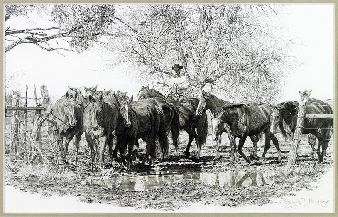 Brenda J. Murphy (American, B. 1955) Sounders Ranch