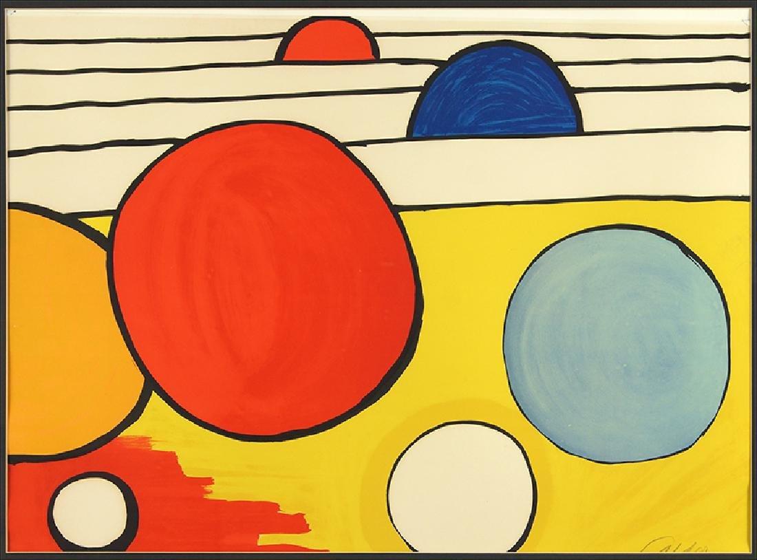 Alexander Calder (American, 1898-1976) Spheres.