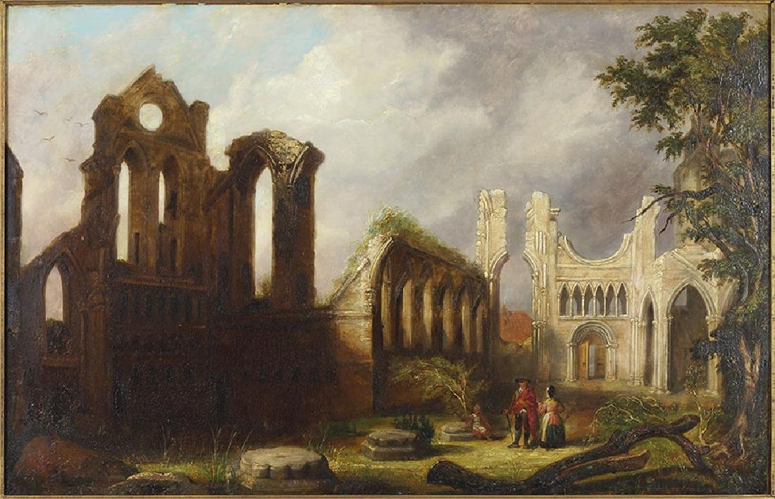 Artist Unknown (British, 19th Century) The Ruined