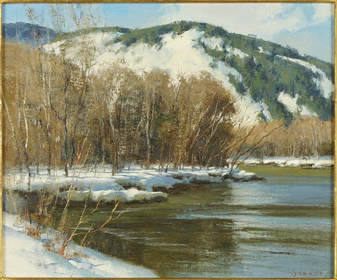 Don Demers (American, B. 1956) Late Winter, North