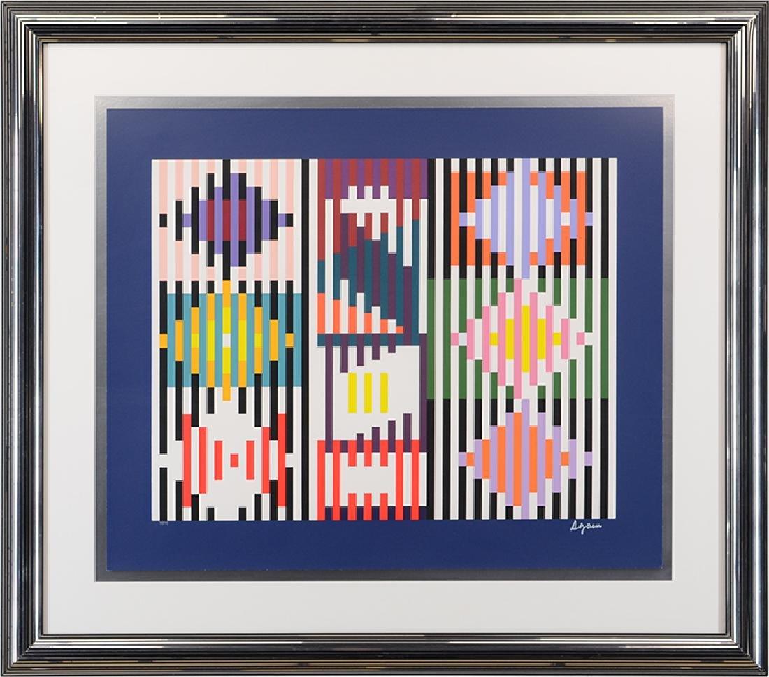 Yaacov Agam (Israeli, B. 1928) Abstract.
