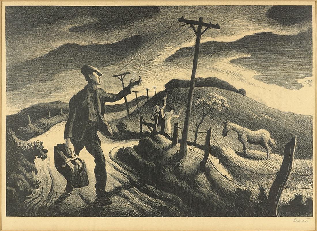 Thomas Hart Benton (American, 1889-1975) The Boy.