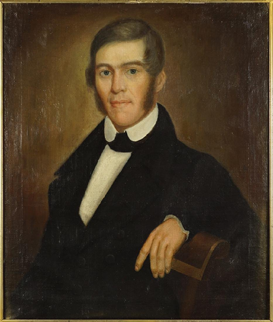 Artist Unknown (American, 19th Century) Portrait of a