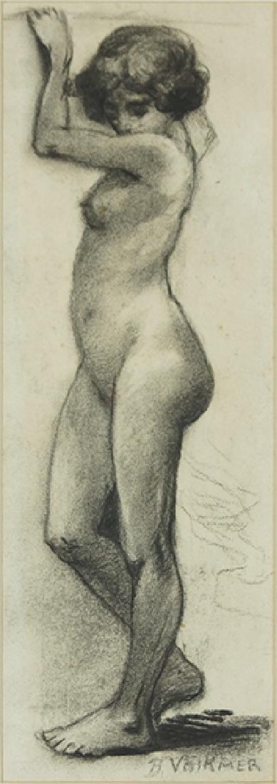 Bernard Volkmer (German/American, 1865-1929) Standing