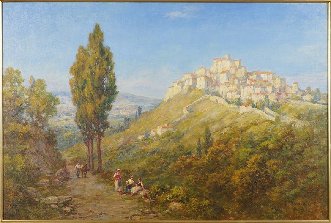 T.E. Francis (American, 20th Century) Chiusi, Italy.