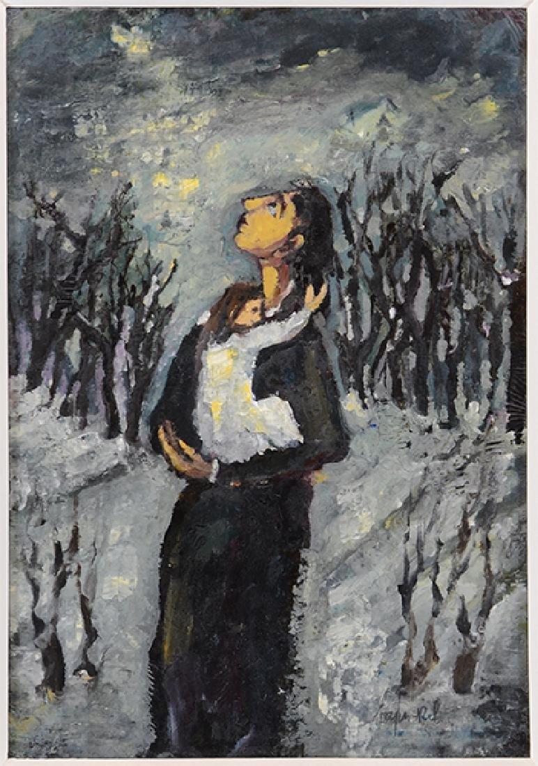 Boris Borvine Frenkel (Polish, 1895-1984) Title