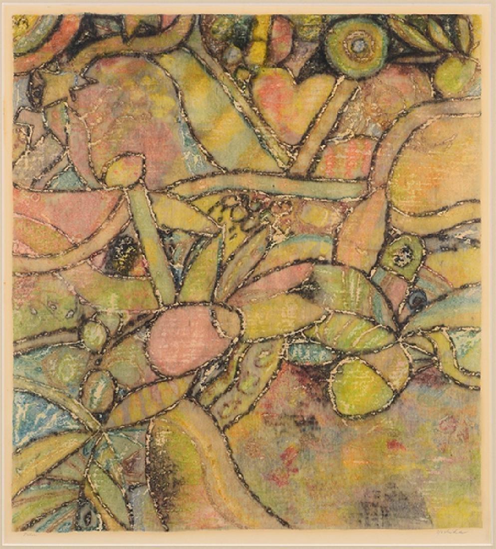 Ray Yoshida (American, 1930-2009) Palm.